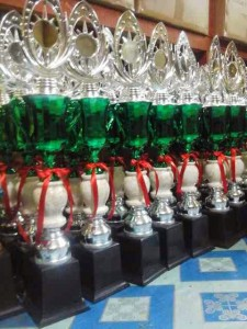 plastik trophy